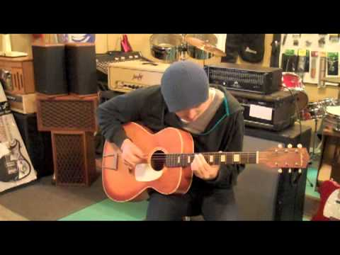 "Joe Robinson performs ""Daddy Longlicks"" Live at Small Town Music in Canton Mississippi Dec. 2011"