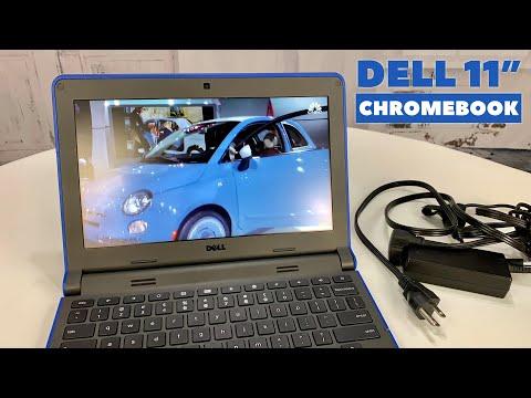 Dell Chromebook 11-3120 Notebook, Intel N2840 2.16GHz Dual-Core, 4GB DDR3, 16GB