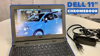 dell Chromebook 11-3120 Notebook, Intel N2840 2.16GHz Dual-Core, 4GB DDR3, 16GB