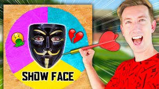 Throwing a DART at a MAP &amp CLOAKER Unmasking Whatever It Lands On - Spy Ninja Challenge