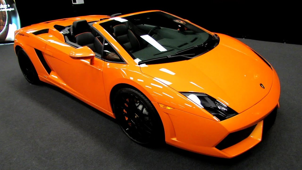 2013 lamborghini gallardo lp560 4 spyder exterior interior walkaround 2014 montreal auto. Black Bedroom Furniture Sets. Home Design Ideas