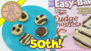 2013 Easy Bake Ultimate Oven 50th Anniversary Edition - Keebler Fudge Stripe Cookies!
