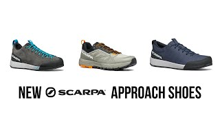 Scarpa - Gecko, Spirit and Rapid Approach Shoes
