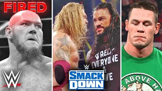 Edge Returns to Smackdown (CONFIRMED)... John Cena Plans Cancelled, Lars Sullivan Fired, Raw Rating