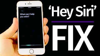 How to Use Siri without the iPhone's home button | iPhone 6s iPhone 7 iPhone 8 | no need to charge