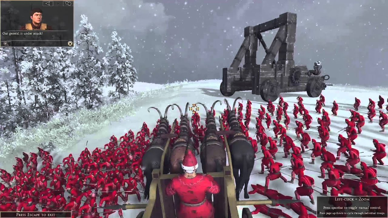 Total War: Christmas Special - Elf and Safety edition - YouTube