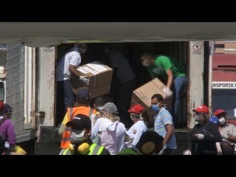 afpes: Venezuela recibe segundo cargamento de ayuda humanitaria de China para combatir COVID-19 | AFP