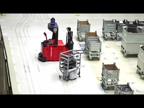 ŠKODA AUTO uses Omron's fully autonomous LD mobile robot at Vrchlabí plant