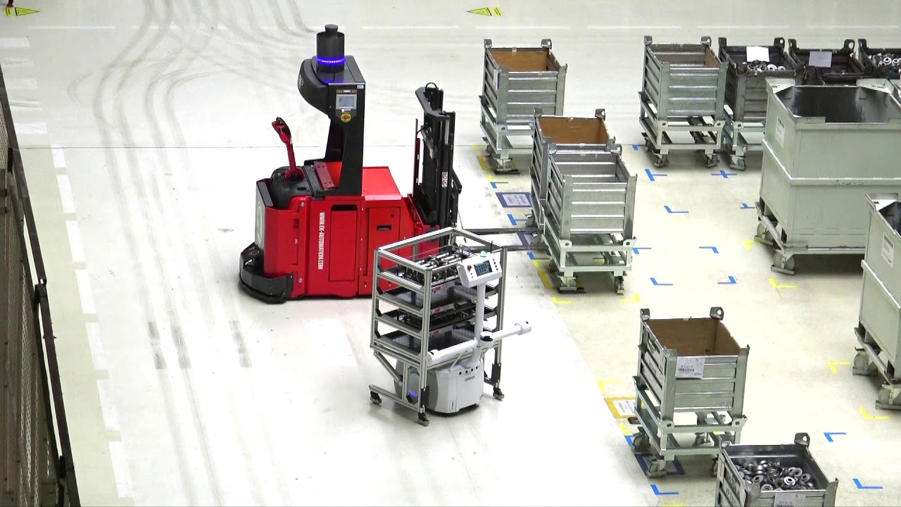 Mobili Auto Škoda Auto Uses Omron S Fully Autonomous Ld Mobile Robot At Vrchlabí Plant