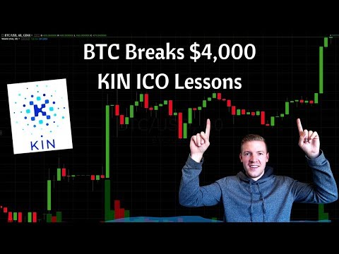 Bitcoin Breaks Through $4,000, Important ICO Lessons from Ki