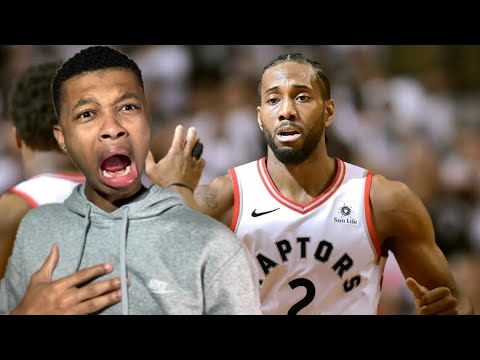 kawhi-goes-off-for-45!!-raptors-vs-sixers-game-1-highlights-reaction!!