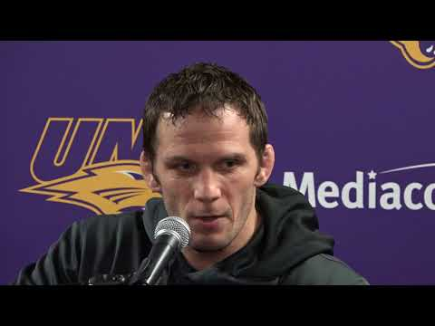 UNI Wrestling Press Conference - Jan. 22, 2018 - morale / training for Oklahoma State