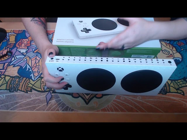Xbox Adaptive Controller Unboxing