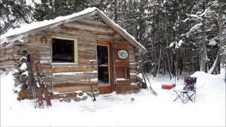 Martin's Cabin Part 20 Holed up at 30 Below