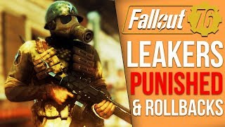 Fallout 76 News - Leakers Punished, User Rollbacks & Given 1000s of Atoms by Bethesda
