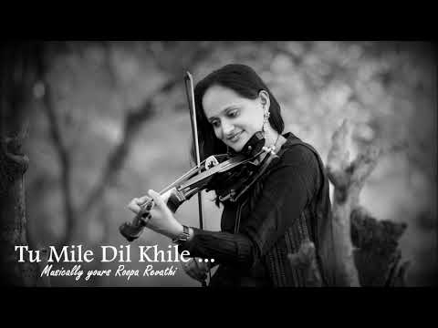 Tu Mile Dil Khile   Violin Theme   Telusa Manasa   Roopa Revathi    Sumesh Anand