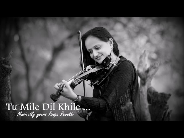 Tu Mile Dil Khile | Violin Theme | Criminal | Roopa Revathi  | Sumesh Anand