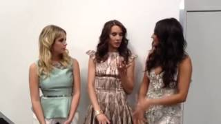 Message from Shay Mitchell, Ashley Benson and Troian Bellisario