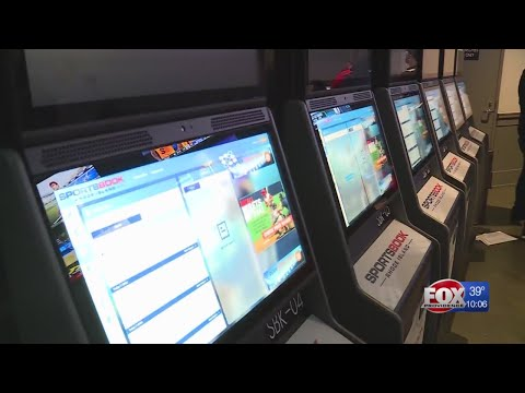 Twin River unveils new sports betting kiosks during NCAA Tournament