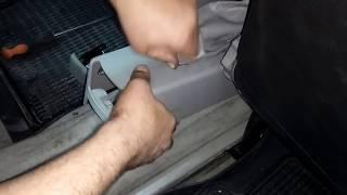 CHERY AMULET Регулировка ручника стояночного тормоза