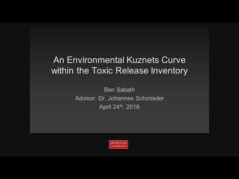 An Environmental Kuznets Curve Within the Toxic Release Inventory
