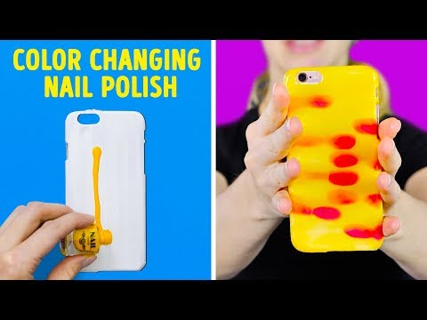 17 COOL CRAFTS AND DIYs FOR YOUR PHONE