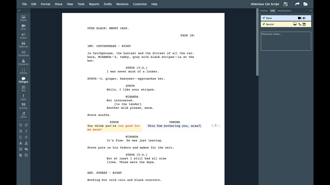 Screenwriting Software: 5 Best Programs Compared