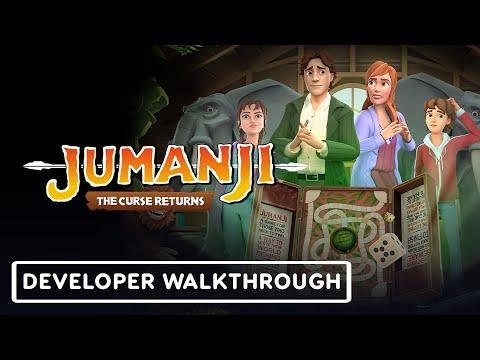 Jumanji: The Curse Returns - Developer Walkthrough   gamescom 2021