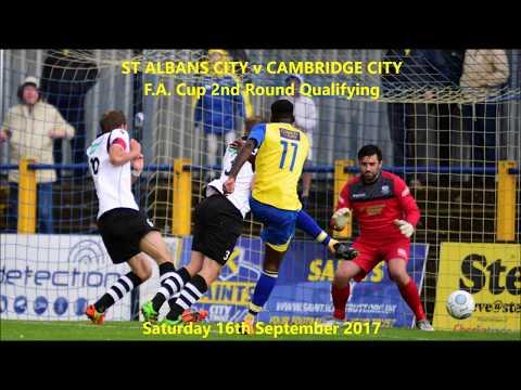 St Albans City 3-3 Cambridge City. 16 Sep 2017