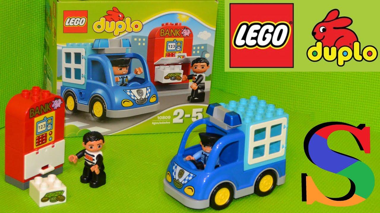 LEGO DUPLO 10809: Полицейский патруль