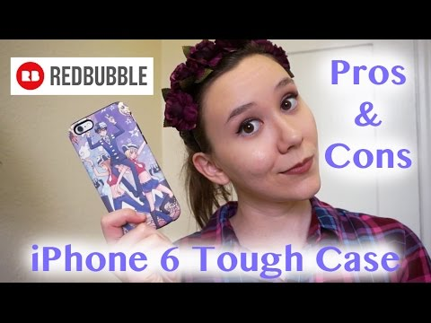 Redbubble iPhone 6 Tough Case Review | 1 Year of Use