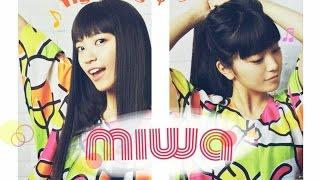 miwa 【 fighting φ girls】歌詞付き full カラオケ練習用 メロディあり