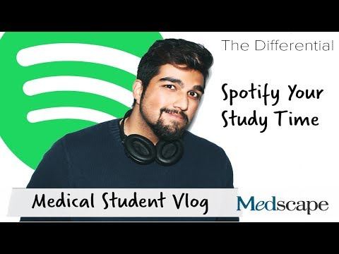 The Med Student Differential | Spotify Your Study Time