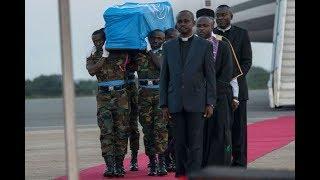 Body of Kofi Annan returned to Ghana for burial