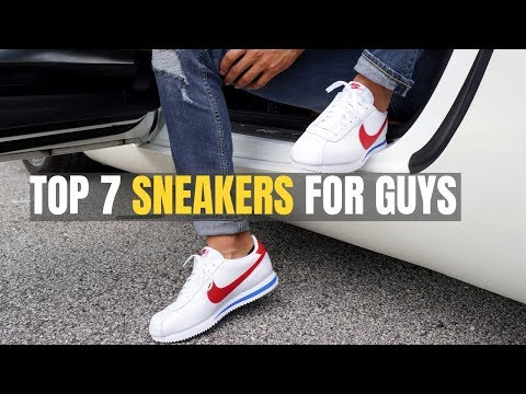 TOP 7 Sneakers ALL Men Should Buy To Look Cool (Retro Inspired)