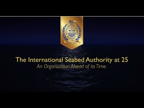 International Seabed Authority celebrates 25 Years