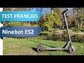 Test De La Segway Ninebot ES2 La Trottinette électrique Concurrente De La Xiaomi M365 mp3