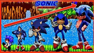 Sonic the Hedgehog Movie 2 Growing Up Compilation Sonic EXE, Vector & X