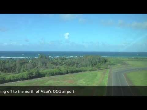 Mokulele Airlines Flight from Maui to Lanai