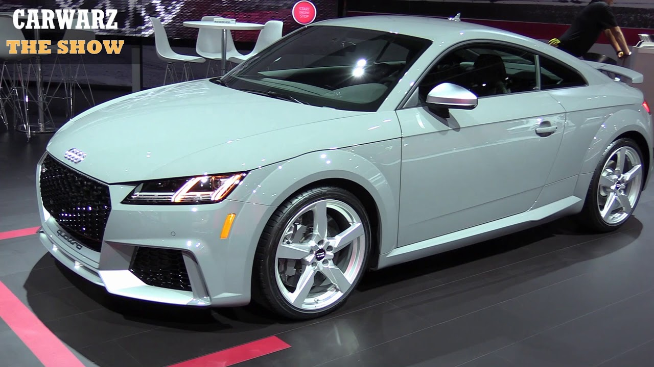 2019 audi tt rs 5 cyl 400hp at the naias youtube. Black Bedroom Furniture Sets. Home Design Ideas