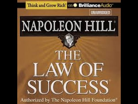 ORIGINAL FULL LENGTH AUDIO - Napoleon Hill Laws of Success - Self Enrichment