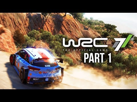 WRC 7 CAREER MODE Gameplay Walkthrough Part 1 - MY FIRST WRC RALLY