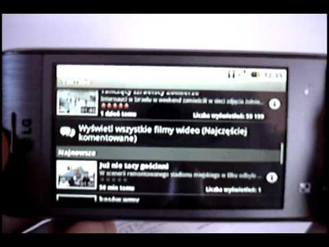 LG GT540 Swift polski przegląd telefonu