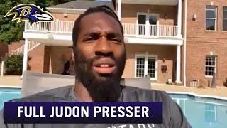 Matthew Judon Full Video Conference Call | Baltimore Ravens