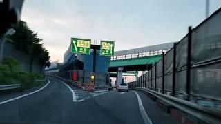 【外環道東京区間】大泉IC入口からの大泉JCT工事状況 2018年6月3日