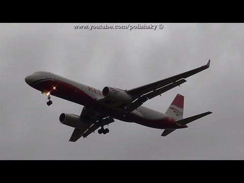Red Wings Tupolev Tu-204 Reg: RA-64049 Landing at Kraków Airport EPKK / KRK 15.09.2013