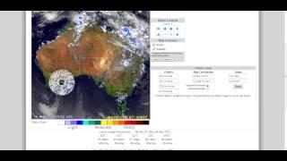strange radar anomaly haarp australian national radar 4 03 2013