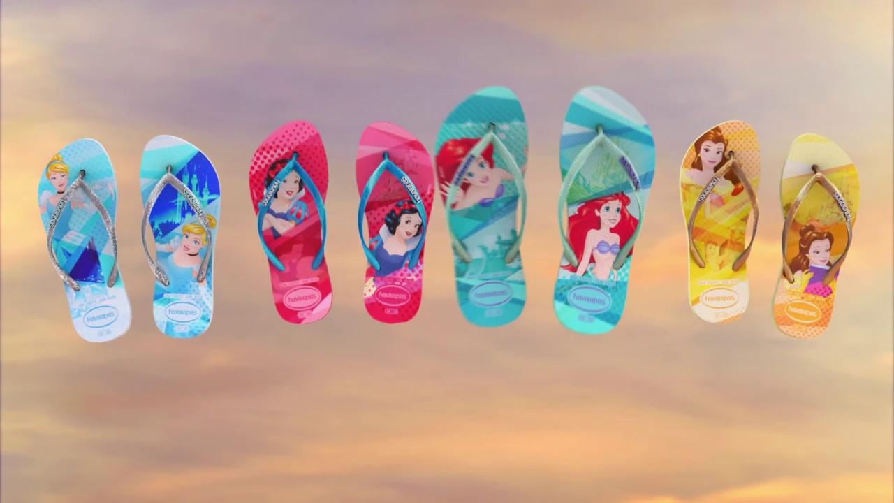 42c2a881c Havaianas Disney Princesas - YouTube