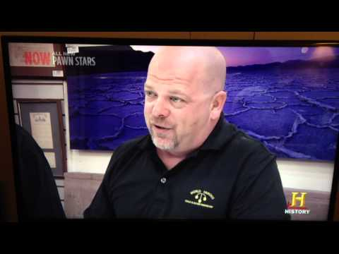 Pawn Stars Rick talks about Federal Reserve History