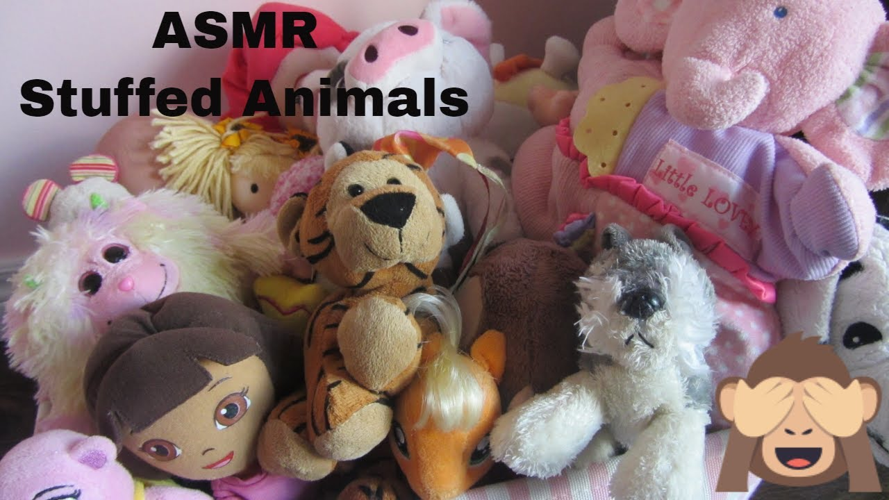 Youtube Stuffed Animals, Asmr Stuffed Animals Collection No Talking Youtube